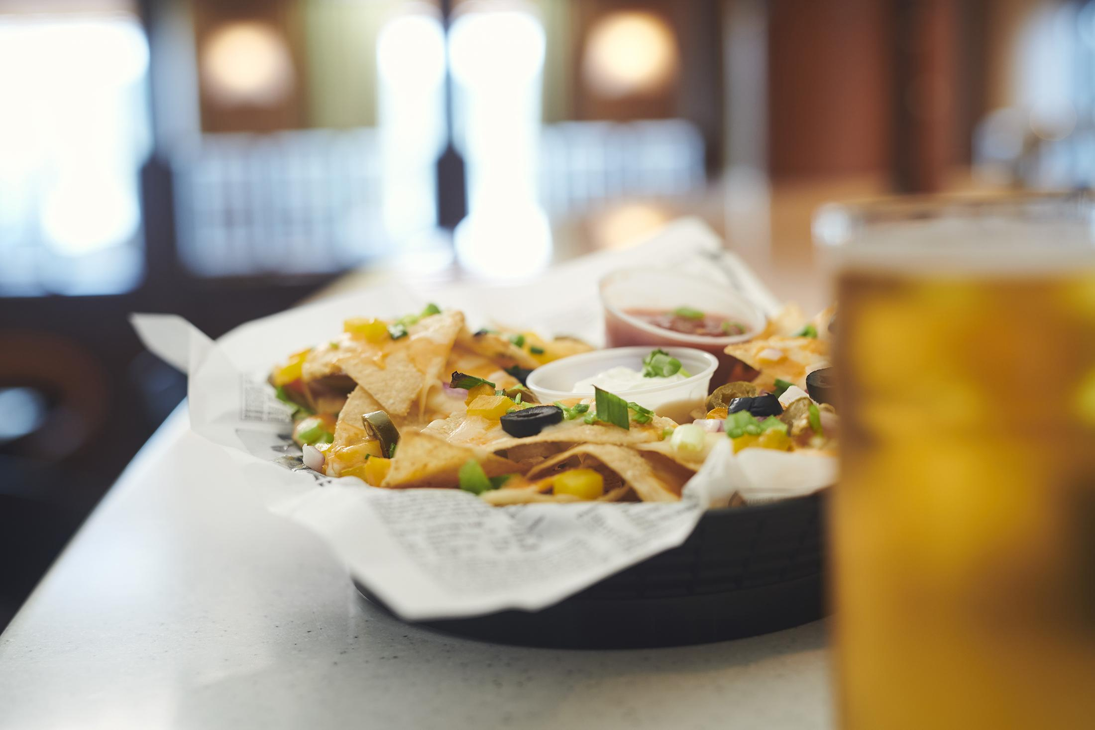 Nachos and a Beer